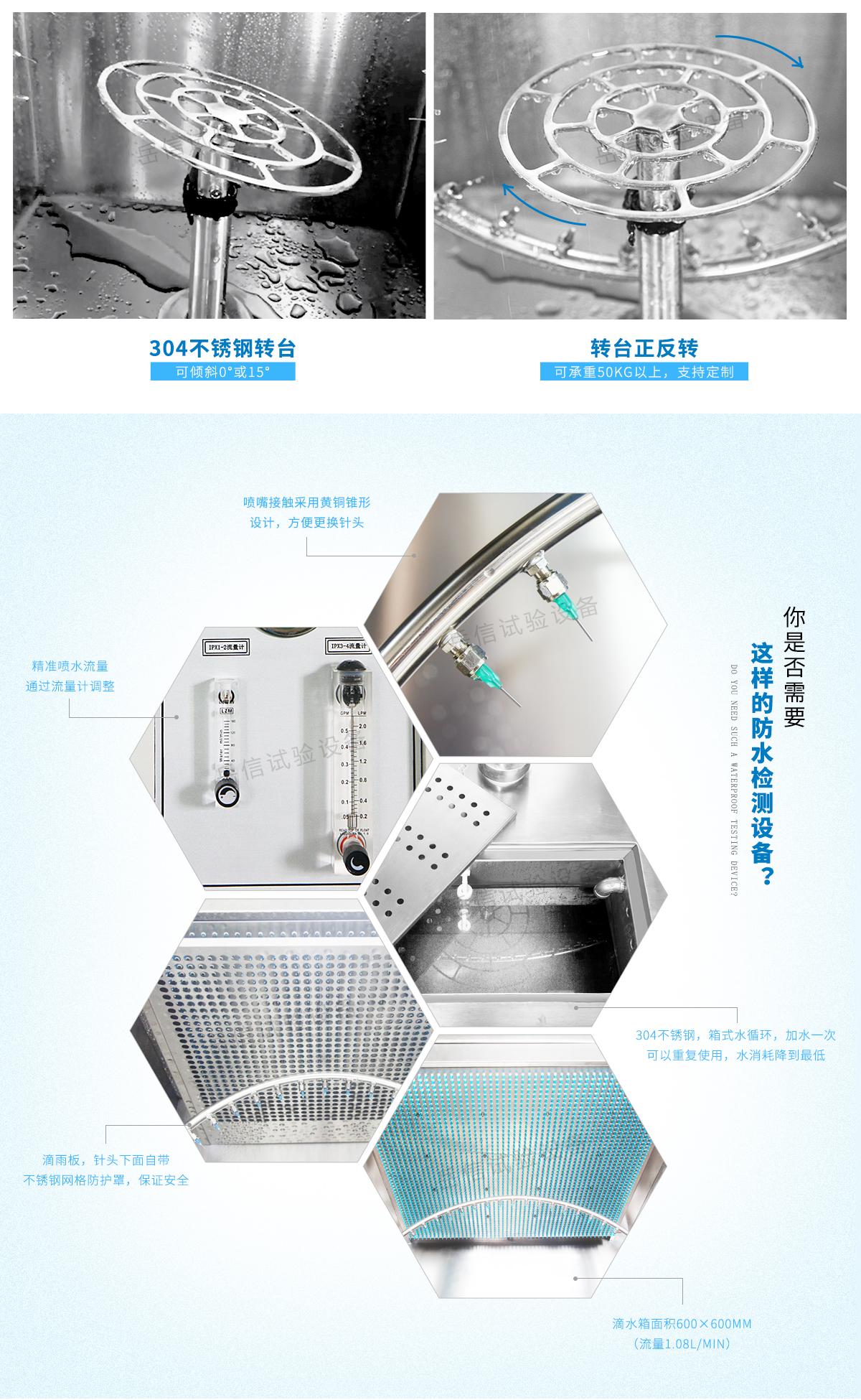 Built-in water storage tank 30L